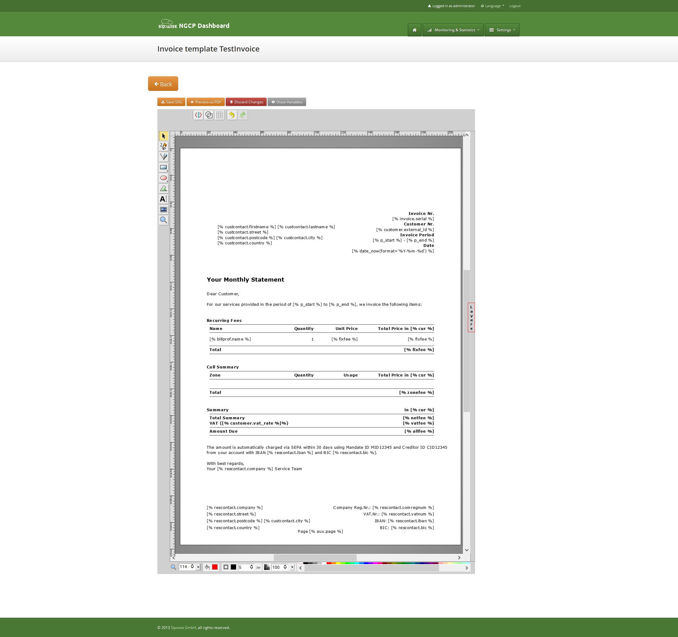 invoices and invoice templates invoice template layers