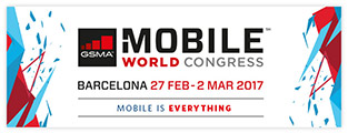 Mobile World Congress, 27.2. - 2.3.2017, Barcelona