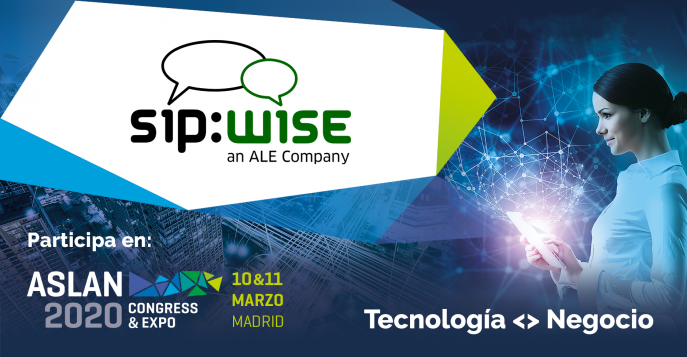 Sipwise will participate at ASLAN 2020 fair in Madrid.